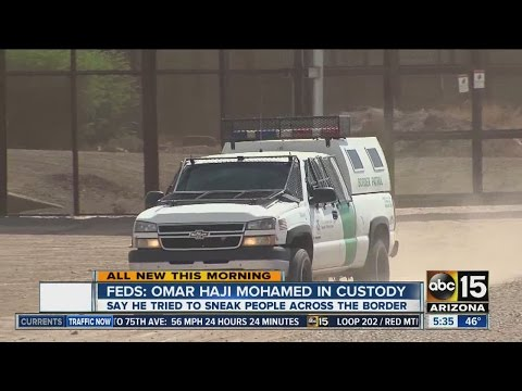 Somali citizen paid to sneak people across US border