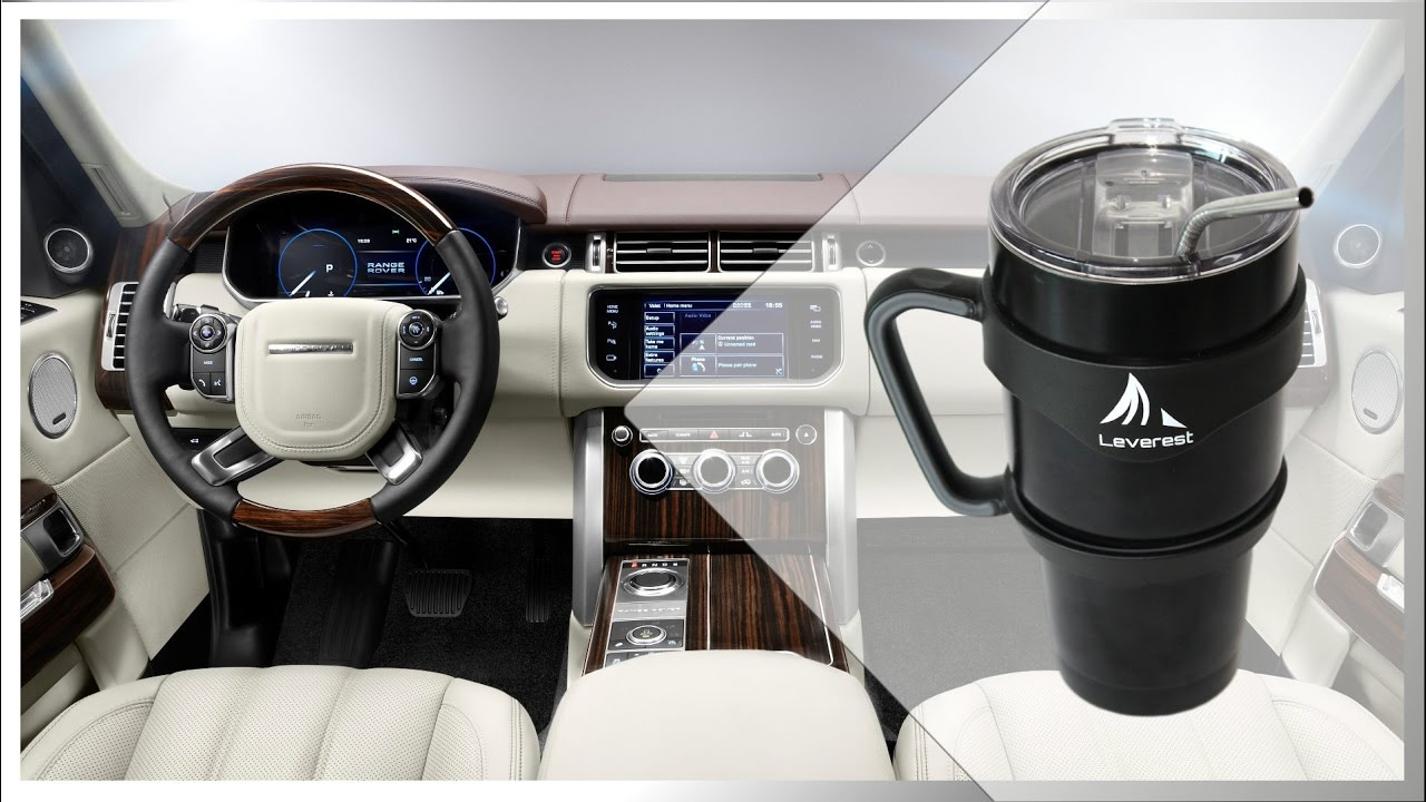 Lincoln MKX Black Stainless Steel Coffee Tumbler Mug