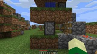 Minecraft - Wood's 1.8 Legit LP ep12 - What Goes Into a Day / Night Light Sensor