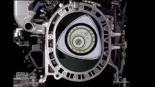 パワーポイントでロータリーエンジン(Wankel engine on Power Point)