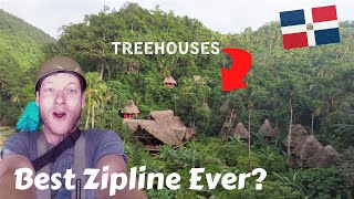 Zipline in Dominican Republic with Fun For Louis
