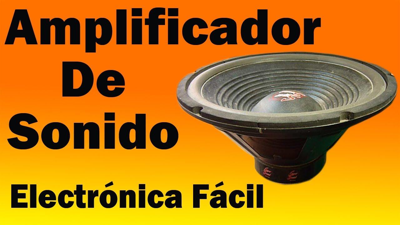 Cmo Hacer Un Amplificador De Sonido Para El Movil Muy Fcil Ha1377 Schematic Audio Amplifier 6w Youtube
