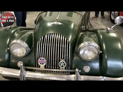 Morgan Plus 4 And Jaguars