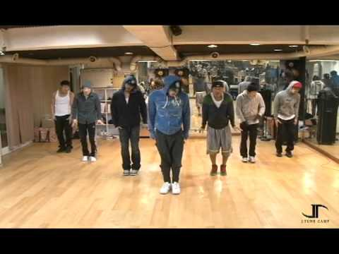 Rain practicing for 'HipSong'