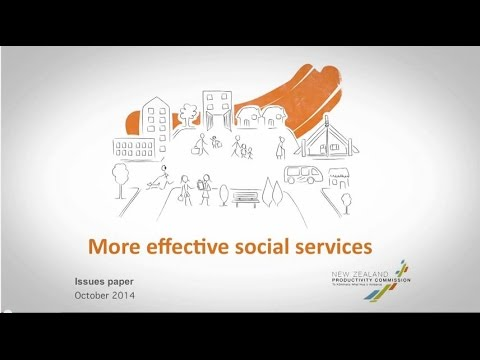 Issues paper - More effective social services