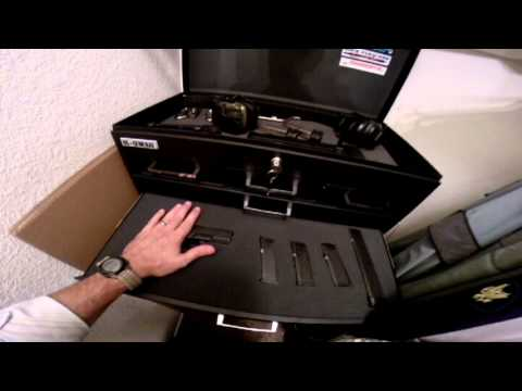 Rock Paracord - Inexpensive Gun Safe Alternative