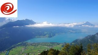 Motorhome Route to Camping Manor Farm, Interlaken: Switzerland