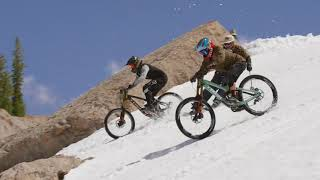First Ever Mountain Bike Descent of Corbet