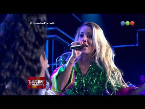 """La familia Puchetta canta """"Mujer Latina"""" - Laten Corazones"""