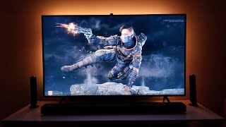 "This is the samsung q60r 55"" 4k hdr tv with xbox one x, here i am testing gaming new game enhancer feature and freesync. your support ver..."