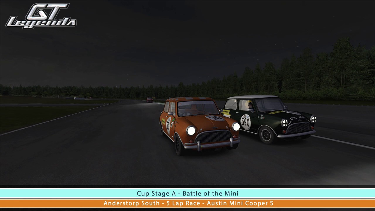 Gt Legends Austin Mini Cooper S At Anderstorp South Youtube