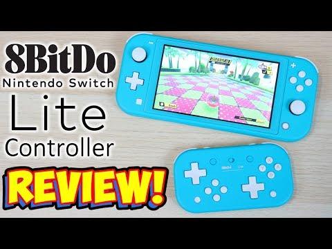 A Nintendo Switch Lite Controller? 8Bitdo Lite Review!