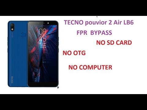 Tecno LB6 frp bypass wicthout computer - YouTube