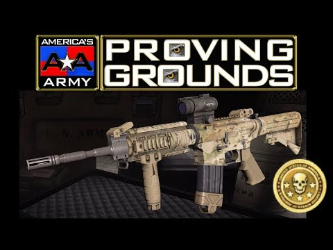 Americas Army Proving Grounds (PS4) Golden Hawkeye Montage