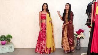 7 Stylish Ways to Reuse Wedding Dress Lehenga, Anarkali - Restyle Wedding Dresses