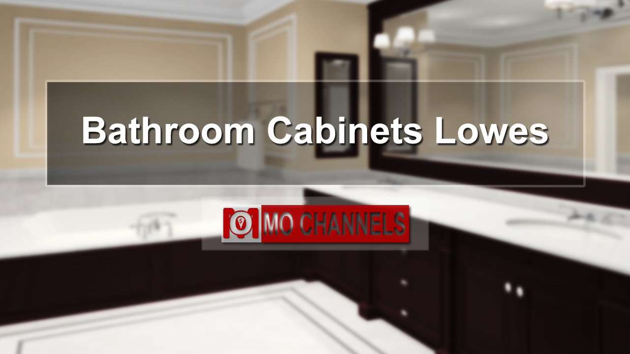 Bathroom Cabinets Lowes Bathroom Cabinet Ideas YouTube - Bathroom cabinet doors lowes