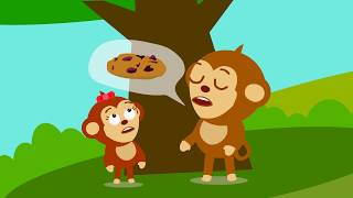 Mom made cookies for Funny Monkeys