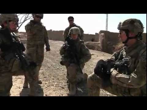 Patrol In Kandahar, Afghanistan - Crazy Troop, 1-10 CAV Build Momentum in Kandahar City