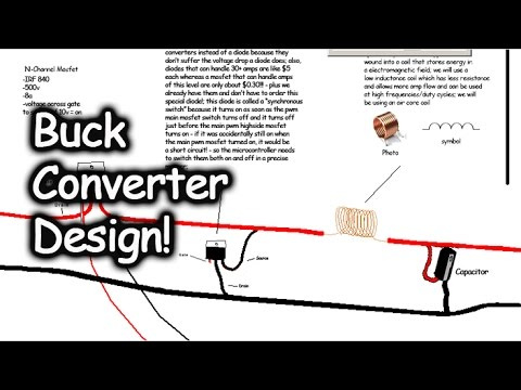 High Power Buck Converter Design DIY - 155v to 18v 60 amps