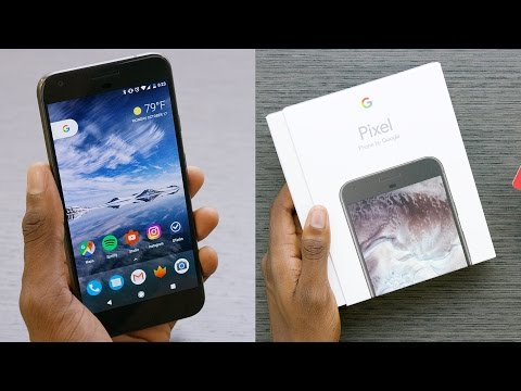 Google Pixel Unboxing! (Best Android 7.1 Features)