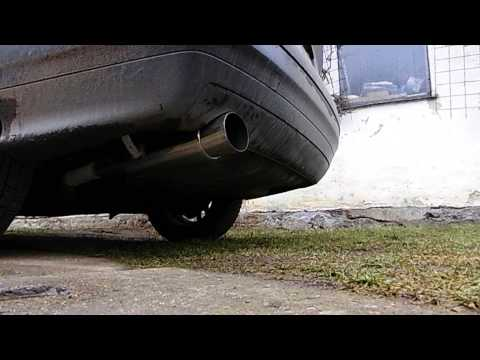 BMW 316i (E36) exhaust sound (tuning)