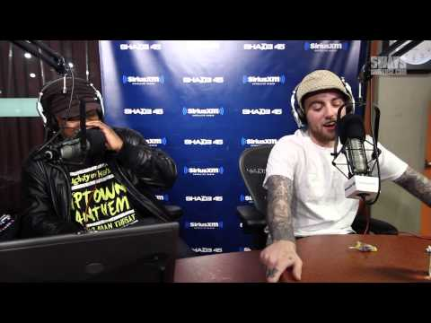 Mac Miller Almost-but-Not-Serious Freestyles over the 5 Fing