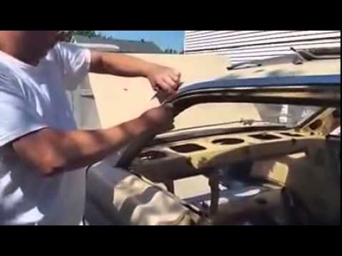 Removing 1964 Ford Falcon Hardtop Roof Trim Youtube