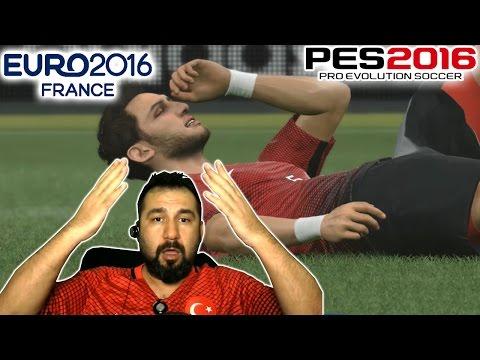 PES 2016 ile EURO 2016 #2 | ŞANS MELEĞİ NEREDESİN?
