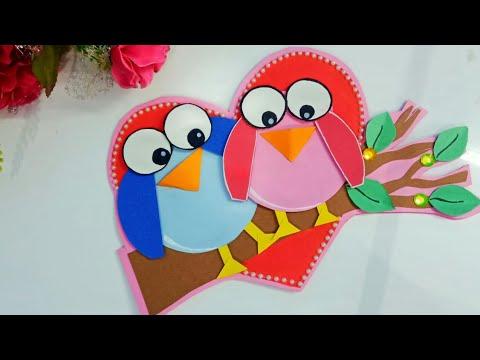 DIY Handmade Friendship Day greeting card | How to make greeting card for friendship day