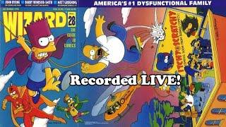 Wizard Magazine issue 28! A live episode!