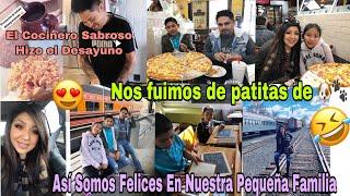 Vean Nada Mas El Desayuno Que Va Hacer José /Así Somos Felices 🥰Vámonos de Patitas De 🐶 / Vlogs