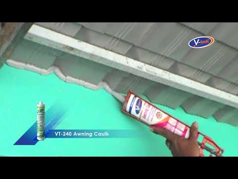 Metal Roof Awning & Nail Protection (VT-240)