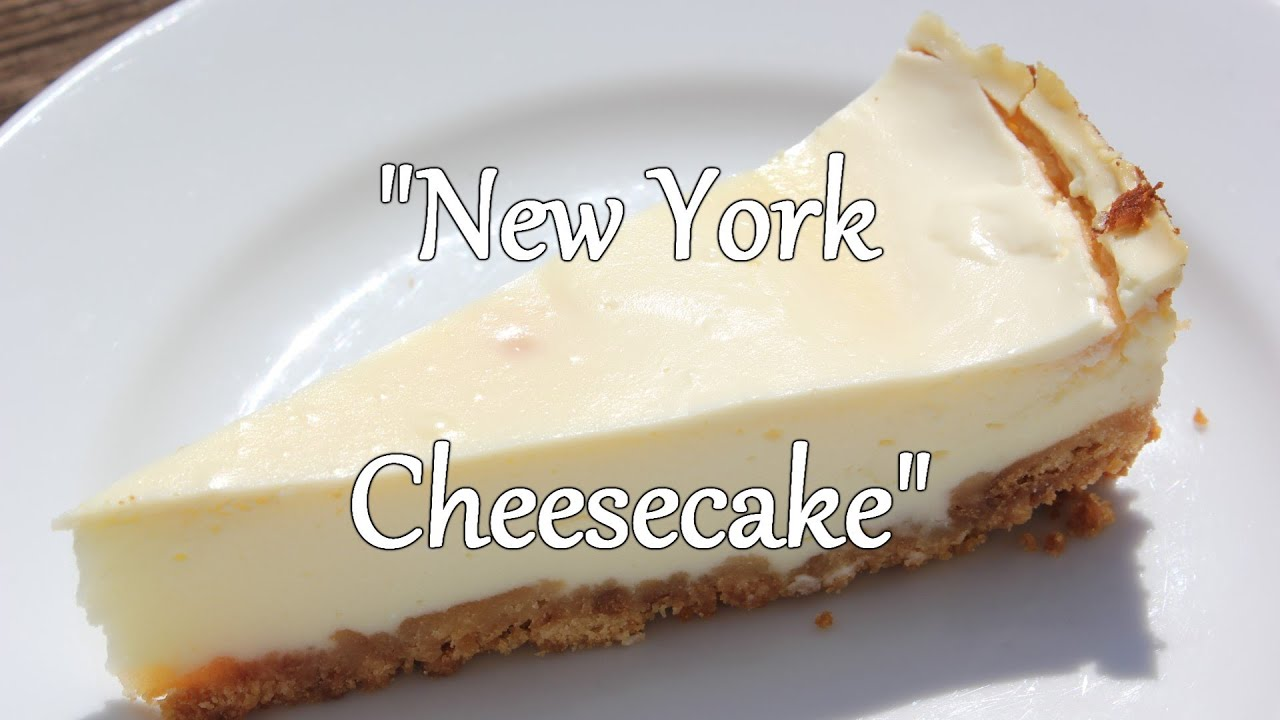 new york cheesecake recipe dishmaps. Black Bedroom Furniture Sets. Home Design Ideas
