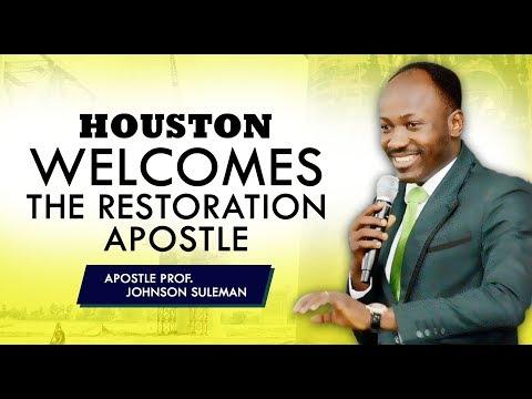 THE SUPERNATURAL - HOUSTON TX With Apostle Johnson Suleman