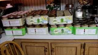 Season End at the Preppers Retreat and Big Canning Day