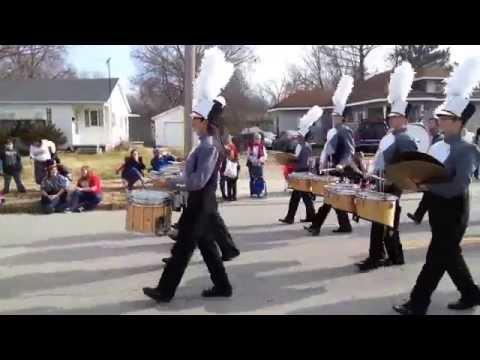 Bentonville High School Band-Christmas Parade 2014