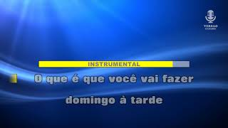 ♫ Demo - Karaoke - DOMINGO À TARDE - Nelson Ned