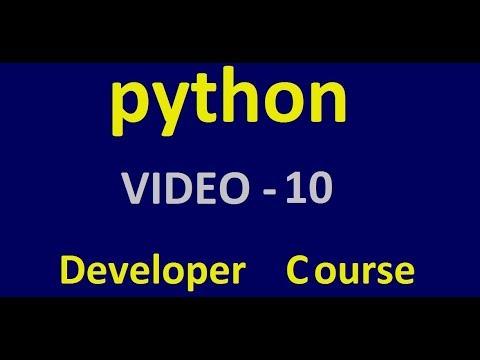 Python - Comments - Tutorial 1 - Video 10 thumbnail