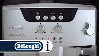 How to find out what the alarm lights mean on your De'Longhi ESAM 04.110.S or ESAM 04.110.B