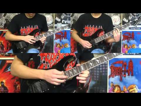 Death - Crystal Mountain (FULL Guitar Cover) HD