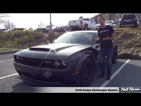 Review: 2018 Dodge Challenger Demon - Crazy Gets Crazier!