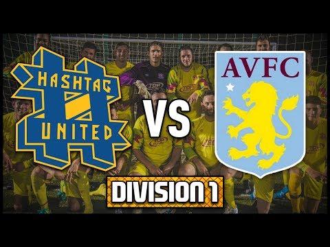 HASHTAG UNITED vs ASTON VILLA STAFF  - 2 NEW PLAYERS! - DIVISION 1