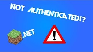 Video not authenticated with minecraft.net Решение 100% download MP3, 3GP, MP4, WEBM, AVI, FLV Juli 2018