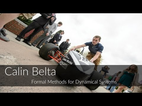 Calin Belta: Formal Methods for Dynamical Systems