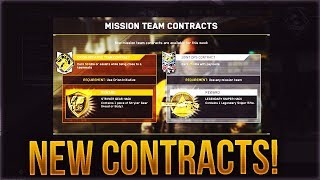 New Contracts/bounties Added To Infinite Warfare! (legendary Sniper Hack   Stryker Gear Hack)