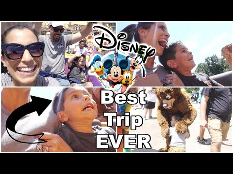 Taking Our 4 Year Old On Some Crazy Park Rides | Disney Trip 2019 |