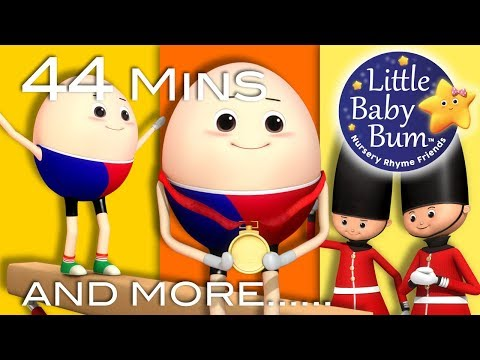 Humpty Dumpty | Part 3 | Plus Lots More Nursery Rhymes | 44