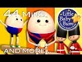 Humpty Dumpty | Part 3 | Plus Lots More Nursery Rhymes | 44 Minutes Compilation from LittleBabyBum!