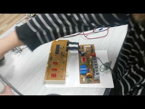 Проверка процессора модуля стиральной машины Samsung