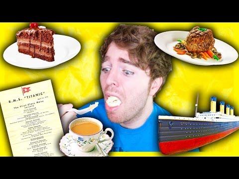 TASTING TITANIC FOODS!